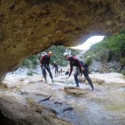 Canyoning and climbing 1